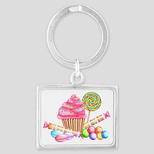 Wonderland Sweets Landscape Keychain
