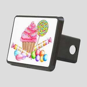 Wonderland Sweets Rectangular Hitch Cover
