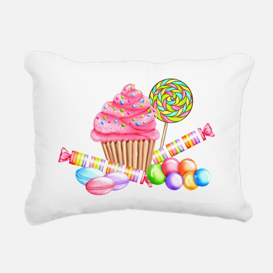 Wonderland Sweets Rectangular Canvas Pillow