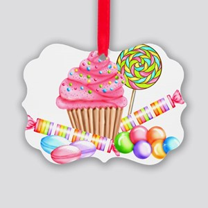 Wonderland Sweets Picture Ornament