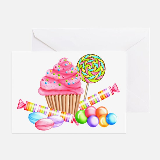 Wonderland Sweets Greeting Card