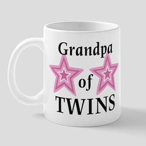 Grandpa of Twins (Girls) Mug