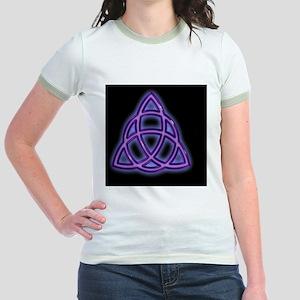 Charmed-Black-(sc) Jr. Ringer T-Shirt