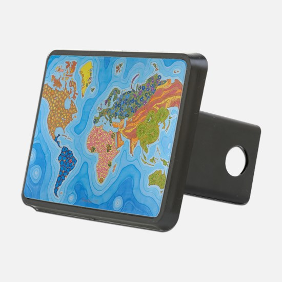 The Map of Health Hitch Cover