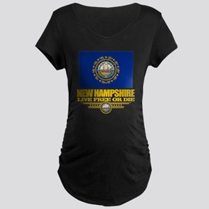 New Hampshire Pride Maternity Dark T-Shirt