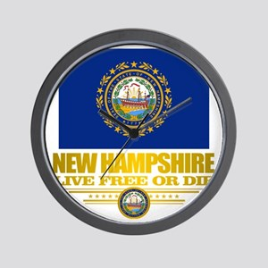 New Hampshire Pride Wall Clock