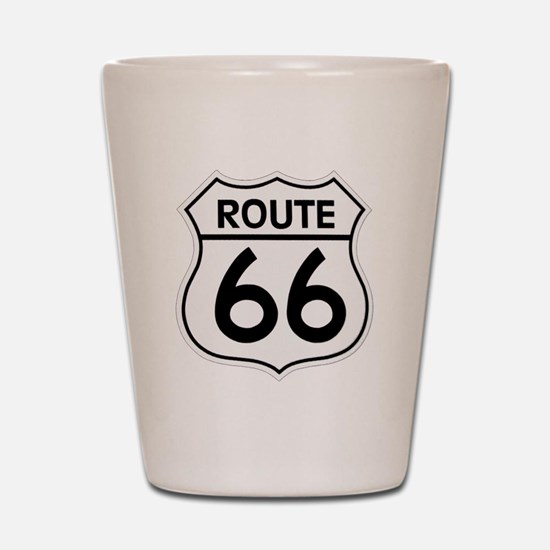 Route 66 Shot Glass