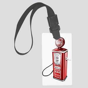 Gas Pump Large Luggage Tag