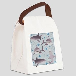 sharks2 Canvas Lunch Bag
