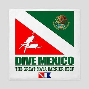 Dive Mexico Queen Duvet