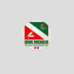 Dive Mexico Mini Button