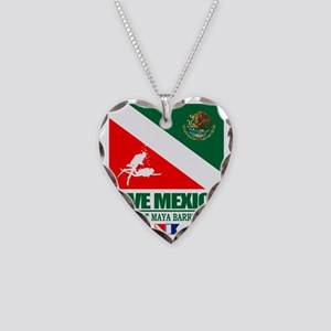 Dive Mexico Necklace Heart Charm