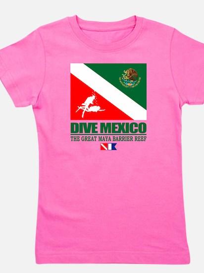 Dive Mexico Girl's Tee