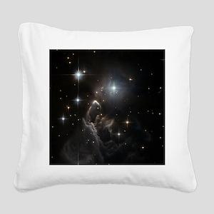 IRAS 05437=2502 Square Canvas Pillow