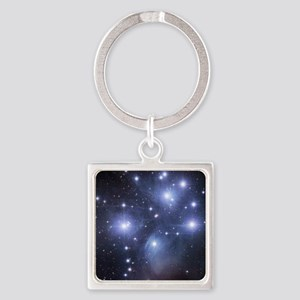 Pleaides Square Keychain