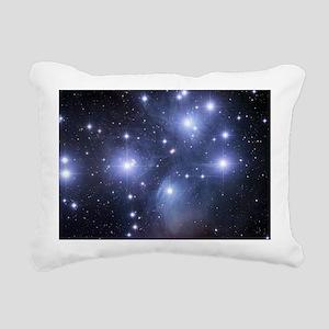 Pleaides Rectangular Canvas Pillow