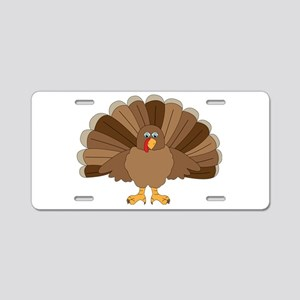 Thanksgiving Turkey Aluminum License Plate