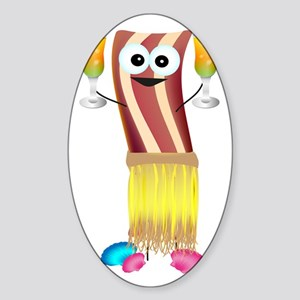 Bahama Bacon Sticker (Oval)