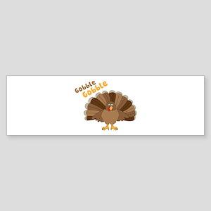 Gobble Gobble Bumper Sticker