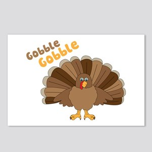 Gobble Gobble Postcards (Package of 8)