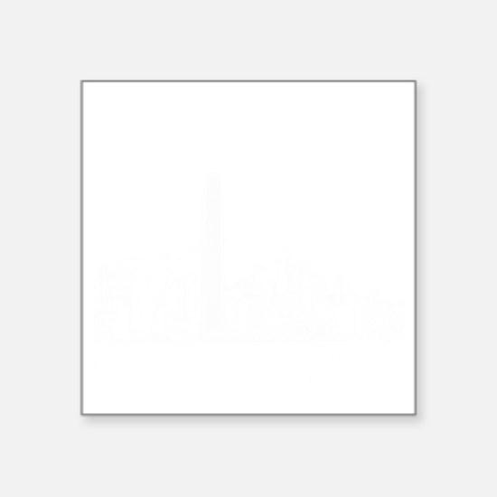 """HongKong_12X12_Skyline_Cent Square Sticker 3"""" x 3"""""""