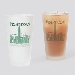 HongKong_10x10_v1_Skyline_Central_B Drinking Glass