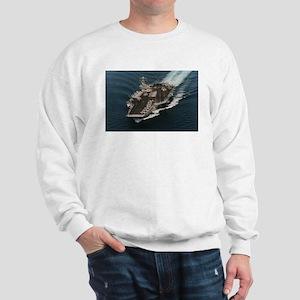 USS John Stennis Ship's Image Sweatshirt