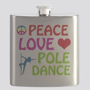 Poledance designs Flask
