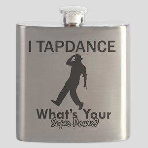 Tap dance designs Flask