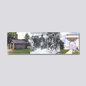 valleyforge2bcap Car Magnet 10 x 3