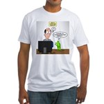 Bad TV Ad Mascot Fitted T-Shirt