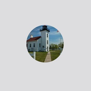 Sand Point Lighthouse Mini Button