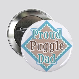 proud Puggle Dad Button