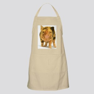 Micro pig looking messy Apron