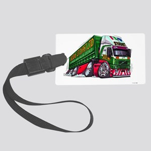 Koolart's Eddie STobart Truck Ca Large Luggage Tag