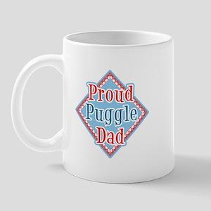 Proud puggle Dad Mug
