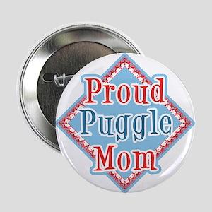 Puggle Mom Button