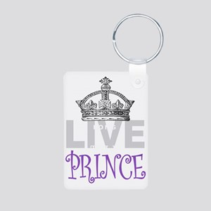 Long Live the PRINCE Aluminum Photo Keychain