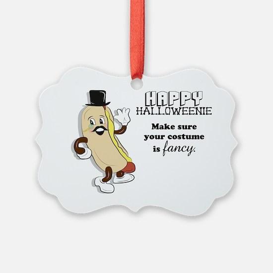 Halloweenie Ornament