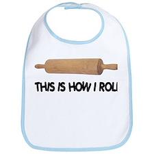 How I Roll Baking Bib