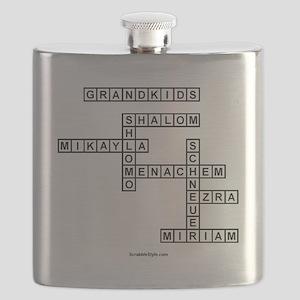 SOUTLAW SCRABBLE-STYLE Flask