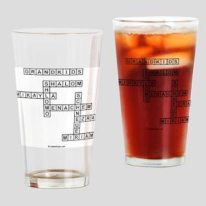 SOUTLAW SCRABBLE-STYLE Drinking Glass