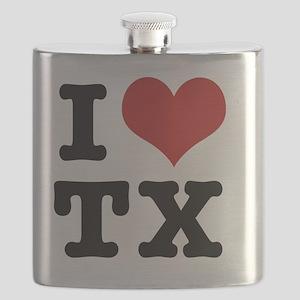 I love texas Flask