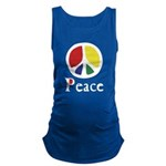 Flowing Peace Colour Maternity Tank Top