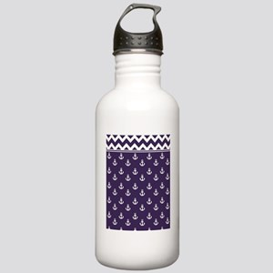Anchors Chevrons TD W  Stainless Water Bottle 1.0L