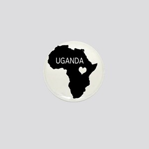 Uganda Mini Button