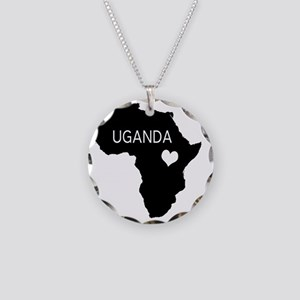 Uganda Necklace Circle Charm
