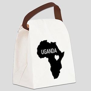 Uganda Canvas Lunch Bag