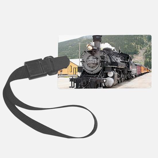 Steam train engine Silverton, Co Luggage Tag