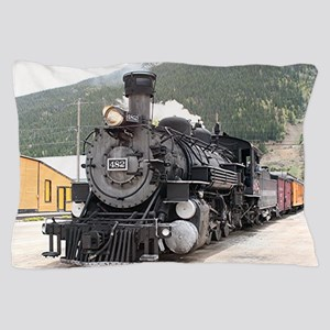 Steam train engine Silverton, Colorado Pillow Case